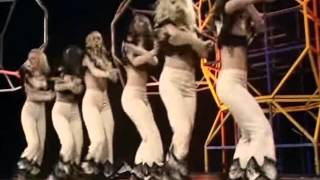 Pans People Dancing To Gimme All Your Lovin