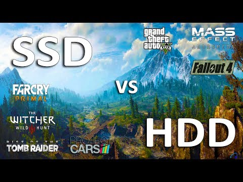 SSD vs HDD Test in 7 Games (Loading\FPS)