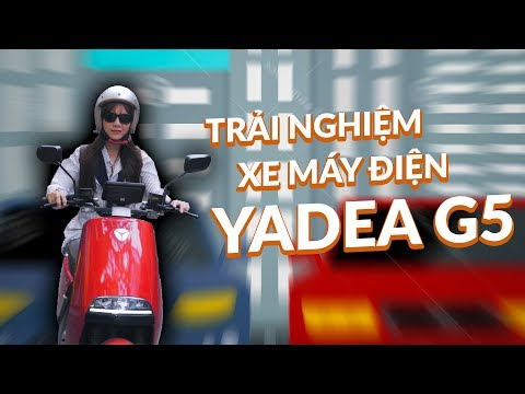 Trải nghiệm Yadea G5 giá 40tr đối thủ mạnh của Vinfast Klara - Ngọc Vy