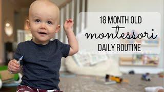 18 Month Old Montessori Daily Routine