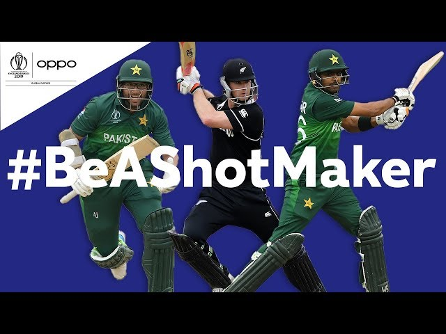 Oppo #BeAShotMaker | New Zealand vs Pakistan - Shot of the Day | ICC Cricket World Cup 2019