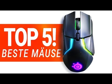 BESTE GAMING MAUS 2019!! - Die TOP 5 im Test!