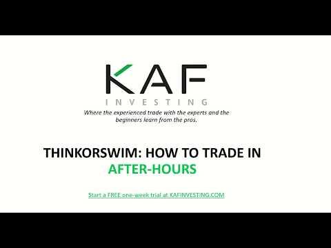 ThinkOrSwim How to spot Hidden Buyers Hidden Sellers - Naijafy