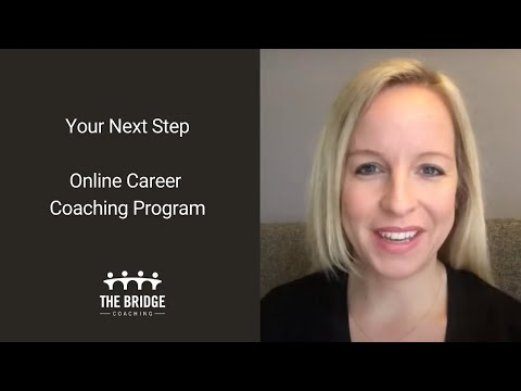 Online Career Coaching Program –  Your Next Step