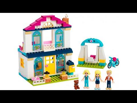 ИНСТРУКЦИЯ Lego friends Дом Стефани