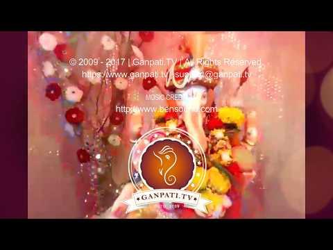 Shyam Jadhav Home Ganpati Decoration Video