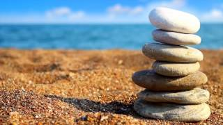 Mindfulness at the Beach without Wave Sounds