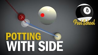 Potting With Side Spin - Pool Tutorial   Pool School