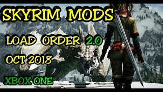 SKYRIM Mods Load Order 2.0 XBOX ONE ( Skyland, Tera armor, 7base body, Old kingdom...)
