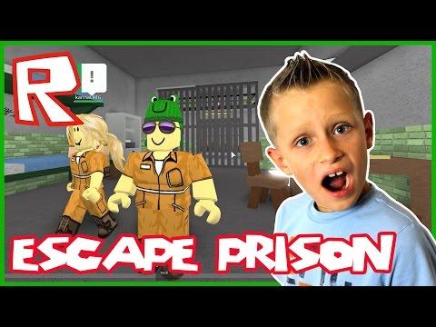 Escape the Prison of ROBLOXia / Roblox