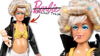Барби уже не та… Беременная кукла Trailer Trash: обзор и распаковка