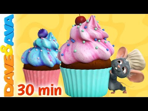😋 The Muffin Man | Baby Songs | Nursery Rhymes by Dave and Ava 😋