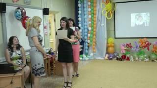 Доброе и веселое поздравление воспитателей от родителей на выпускном в детском саду