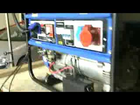 Generador autómata de emergencia