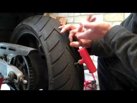 Delboy&#39s Garage, Emergency Puncture Repair, Motorcycle Tyre.