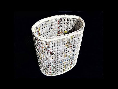 How To Make a Newspaper Basket | DIY Basket Making | Best out of waste