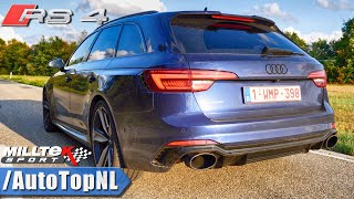 Audi RS4 B9 MILLTEK EXHAUST Sound LOUD! Revs & ONBOARD by AutoTopNL