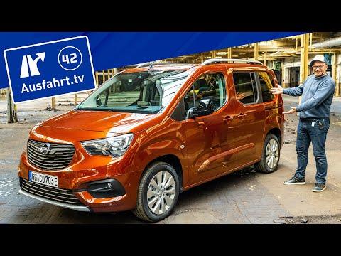 ⚡️⚡️⚡️ 2021 Opel Combo-e Elegance - Kaufberatung, Test deutsch, Review, Fahrbericht Ausfahrt.tv