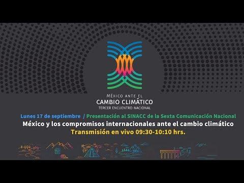México y los compromisos internacionales ante el cambio climático.