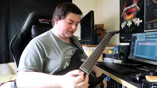 How It Feels To Go From An 8 String Guitar Back To A 6 String Guitar