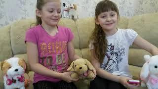 BARBIE INTERACTIVE PUPPY DOG WITH SOUND LIGHTS UP. Barbie Dog - Taffy. Собачка Барби - Таффи.