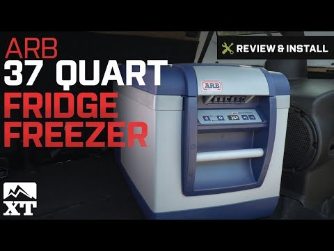 Jeep Wrangler ARB 37 Quart Fridge Freezer (1987-2017 YJ, TJ, JK) Review & Install