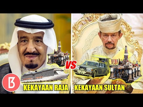 Download Lebih Tajir Yg Mana! Inilah Perbandingan Kekayaan Raja Salman Vs Sultan Brunei HD Mp4 3GP Video and MP3
