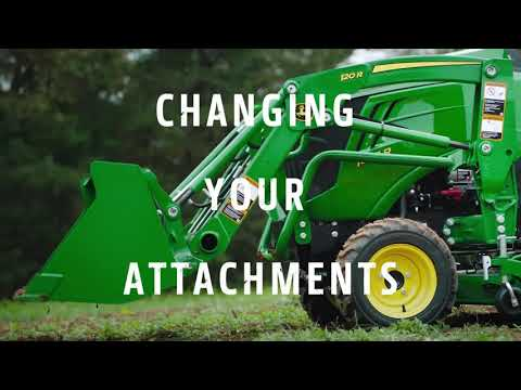 John Deere 1025R | Attachments
