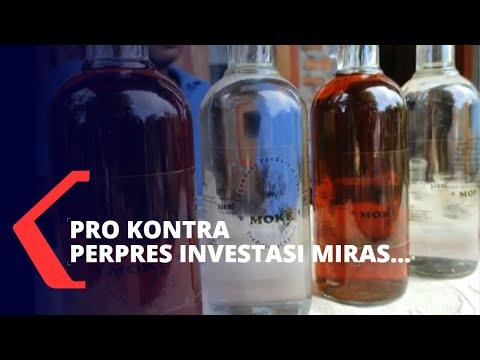 Sorotan: Perpres Soal Investasi Miras Menuai Pro Kontra