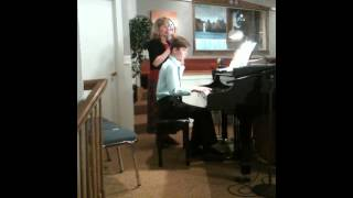 Pamela Lindholm Singing God Makes No Mistakes <b>Philip Lindholm</b> Accompianist