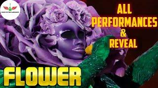 Masked Singer Flower All Performances & Reveal | Season 2
