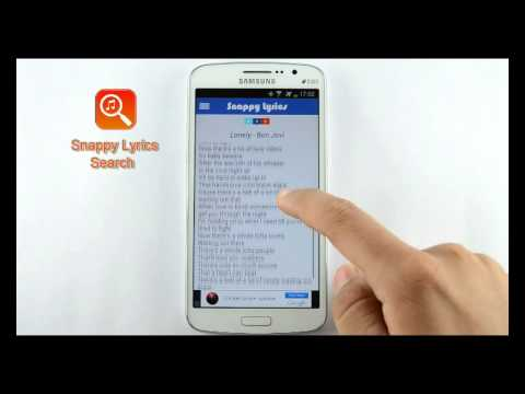 Video of Snappy Lyrics Search
