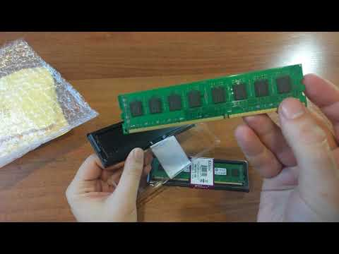 Unboxing Cheap DDR3 RAM For AMD AM3 Kllisre DDR3 4GB Memory 1600Mhz for Desktop