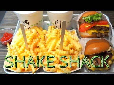 Shake Shack in Seoul, Korea: Eating burgers, cheesy fries and milkshakes