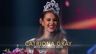 ABS-CBN: Congratulations Miss Universe 2018, Catriona Gray!