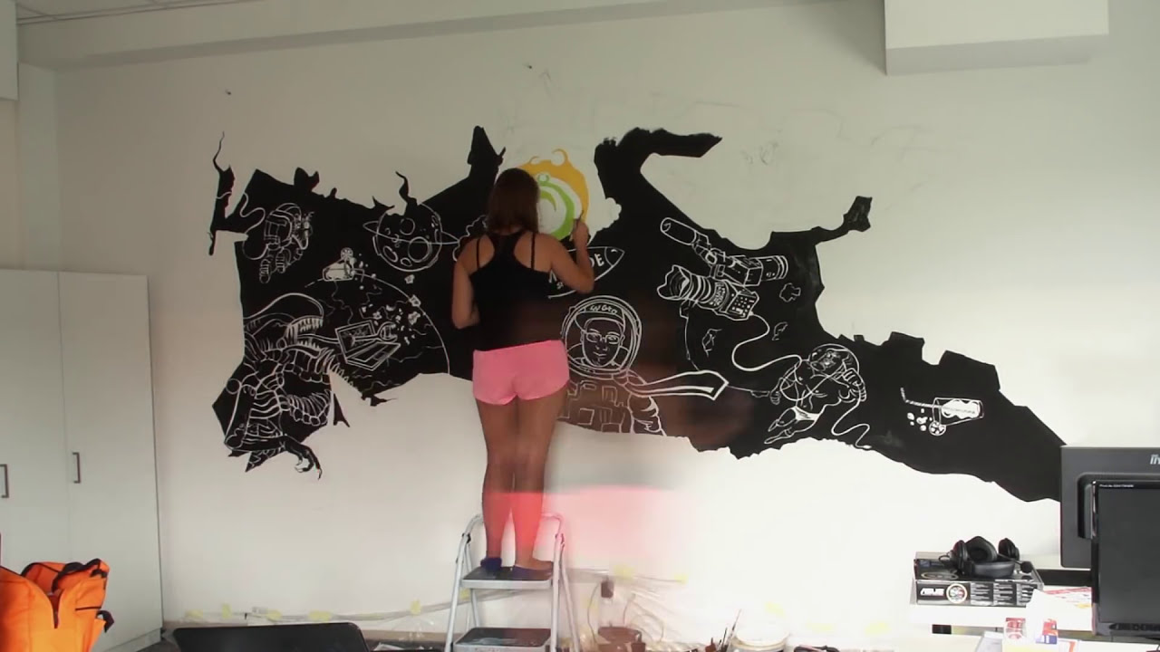 graffiti mural artwork timelapse by lemonade studio