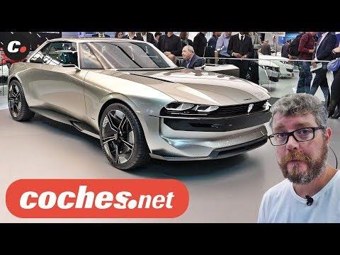 Peugeot e-Legend Concept | Salón de París 2018 | Mondial de l'Auto | coches.net