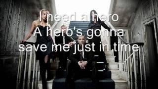 Skillet   Hero (Lyrics)