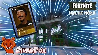 How to - Find Joels Pub - Fortnite Save The World Side Quest Mission. Mythic survivor