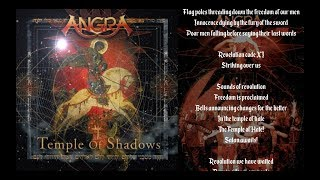 Angra - The Temple Of Hate - Lyric Video