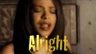 Aaliyah 'Everythings Gonna Be Alright'