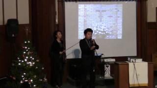 2014/01/04 張伯笠牧師佈道會:特约嘉宾石磊和李冰表演