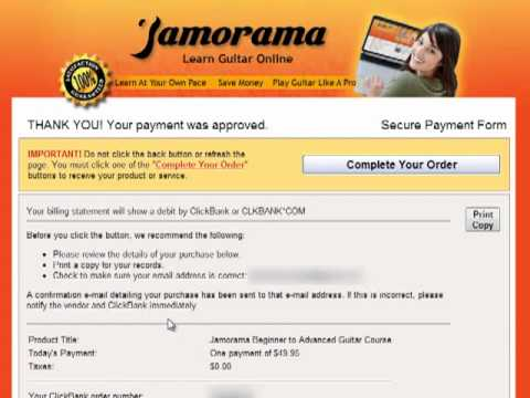Learning Guitar Chords - Jamorama Review - Guitar Lessons Product