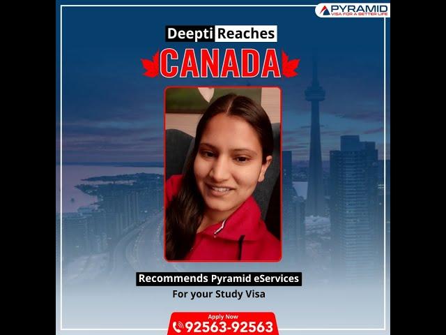 Canada study visa received!