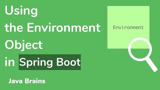 Using Environment object -  Microservice configuration with Spring Boot [09]