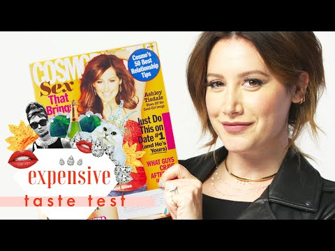 Ashley Tisdale Literally Spit Out the Fries We Gave Her   Expensive Taste Test   Cosmopolitan