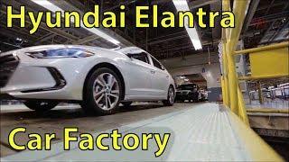 Hyundai Elantra Production, Hyundai Factory (Alabama, U.S ) Elantra Production Line, Hyundai Plant