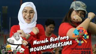 Meraih bintang dukung bersama Asean Games 2018 - Prisha Feat. Dilla (Cover)
