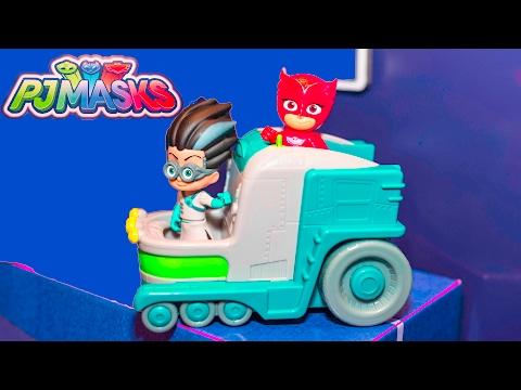 PJ MASKS Disney PJ Masks Changing Station New Toys  Video