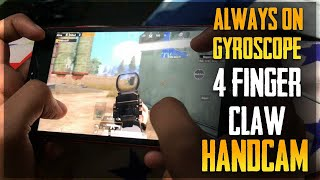 4 finger claw and gyroscope pubg mobile handcam - Thủ thuật
